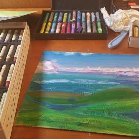 Art skill derives from persistence not raw talent!