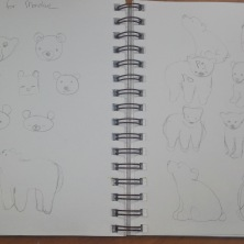 Doodles for bear ideas