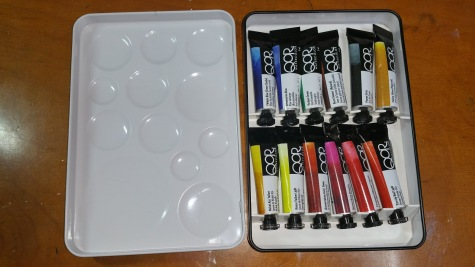 QOR Watercolor Tubes