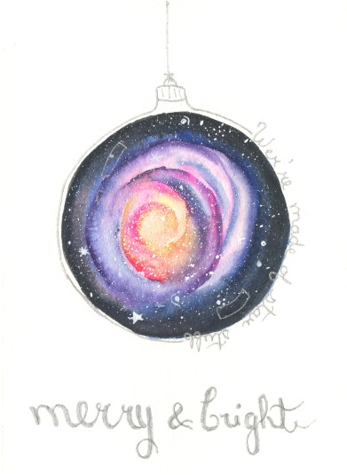 Cosmos Christmas card 1