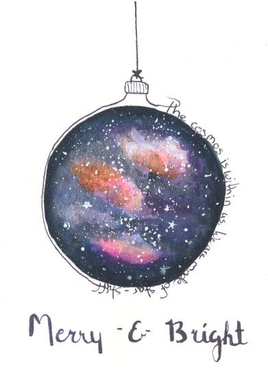 Cosmos Christmas Card