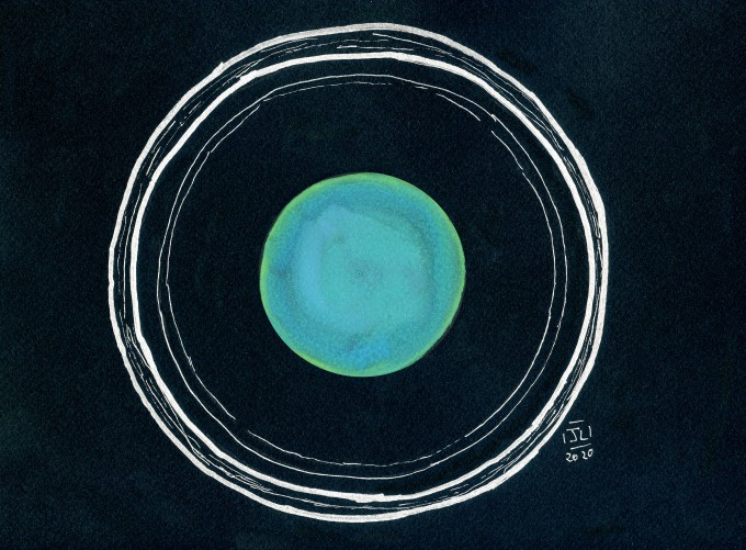 Uranus and rings